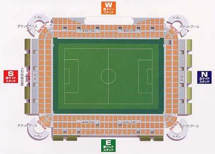 スタジアム平面図